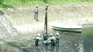 Lắp đặt thí điểm 3 máy làm sạch 1 đoạn sông Tô Lịch 3 ngày với công nghệ nano - bio