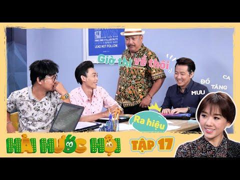Hài Hước Hội | Tập 17: Ba anh thanh niên có mưu đồ kiếm cớ tăng ca để ở cùng người đẹp Hari Won