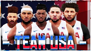 NBA 2k16 MyCareer Olympics #3 | LOBS EVERYWHERE | INBOUND JUICE TO THE HOOP