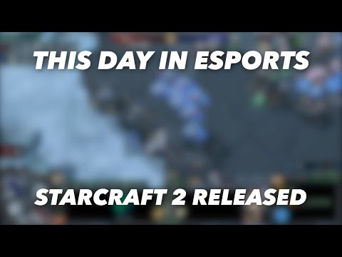 This day in esports - StarCraft 2 Released