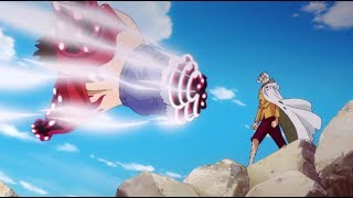 RAYLEIGH VS LUFFY Gear 4 - One Piece Episode 870 English Sub