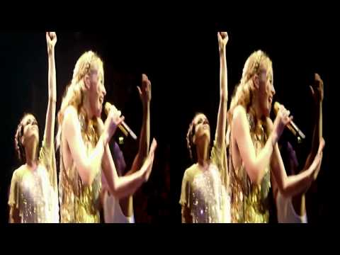 Kylie Minogue -Angel  - O2 London - 3d - APHRODITE LES FOLIES