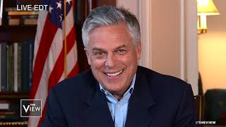 Abby Huntsman's parents deliver birthday surprise from Moscow | The View
