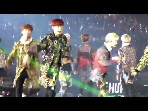 [Fancam] 140601 EXO Sorry Sorry + Dream Girl + Genie + Gee  - The Lost Planet Concert in Hong Kong