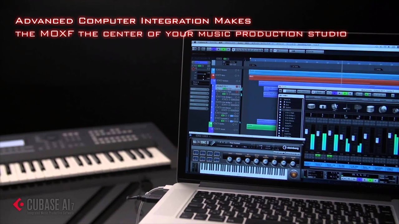 yamaha moxf6 moxf8 synthesizer workstations teaser full compass youtube. Black Bedroom Furniture Sets. Home Design Ideas