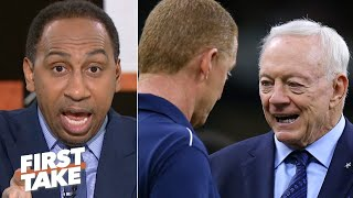Stephen A.: 'Jerry Jones should fire Jason Garrett TODAY!' | First Take