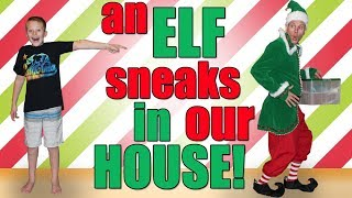 Elf on the Shelf Comes to Life!