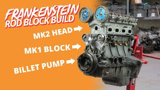 We Build A Weird 1.6 MX-5 Miata Engine With Forged Rods And Billet Oil Pump