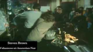 Coffeeshop van Steve Brown The Happy Family in de jaren '80, Amsterdam.