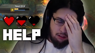 Imaqtpie - I AM DYING (LEAGUE GAVE ME EBOLA)