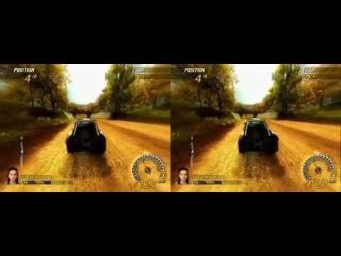 yt3d - Best PC game to play with 3D glasses - 720p