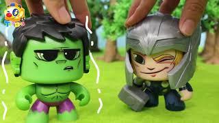 ¡hulk Escapó! | Toy Story | Toy Bus | Juguetes Para Niños | Baby Doll Play | Toybus