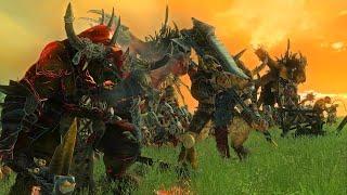 Beastmen Vs Lizardmen   The Silence and the Fury Cinematic Battle   Total War Warhammer 2