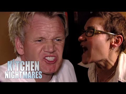 The ANGRIEST Owner Of All Time?   Kitchen Nightmares