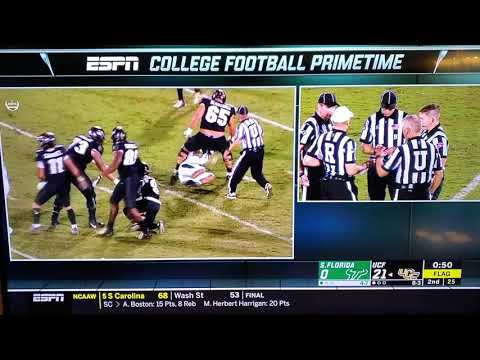 UCF vs Sourh Florida brawl NCAA football