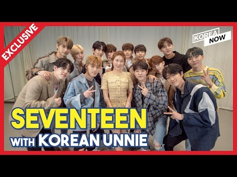 [Exclusive Interview] Seventeen(세븐틴) with Korean Unnie