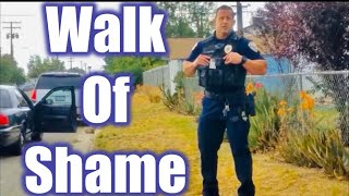Gang Task force threatens me with Arrest Look! what happens CopWatch TCCW