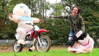 GIANT BABY CHALLENGE!! (Super Funny)