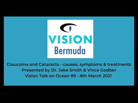Glaucoma and Cataracts - causes, symptoms & treatments.  Presented by Dr  Jake Smith & Vince Godber.