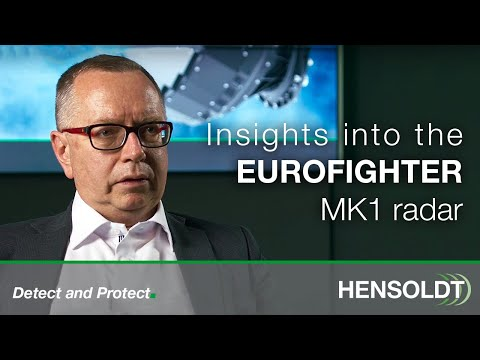 Eurofighter MK1 Radar – Interview with Erwin Paulus from HENSOLDT