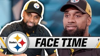 WR Donte Moncrief on his Journey to Pittsburgh, 'Feed Moncrief' | Steelers Face Time
