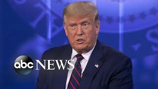On ABC News town hall, Trump talks pandemic response, race relations and health care   Nightline