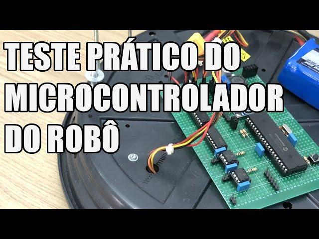 TESTE PRÁTICO DO MICROCONTROLADOR   Usina Robots US-3 #052