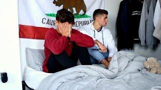 BREAK UP PRANK ON BOYFRIEND GONE WRONG (very emotional)