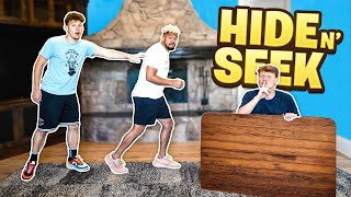 INSANE Hide And Seek TAG! Last To Get Tagged Loses!