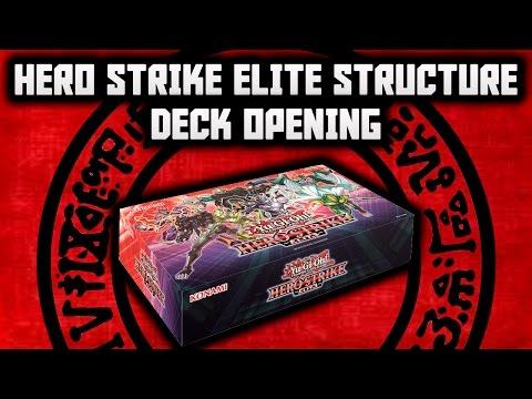 Yu-Gi-Oh! Structure Deck - HERO Strike Elite BOX
