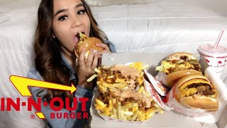 IN-N-OUT SECRET MENU MUKBANG | story time (the time I got chased by the cops)