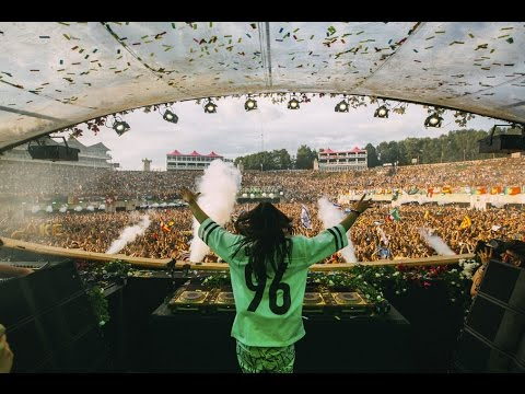 Steve Aoki at Tomorrowland Belgium 2016