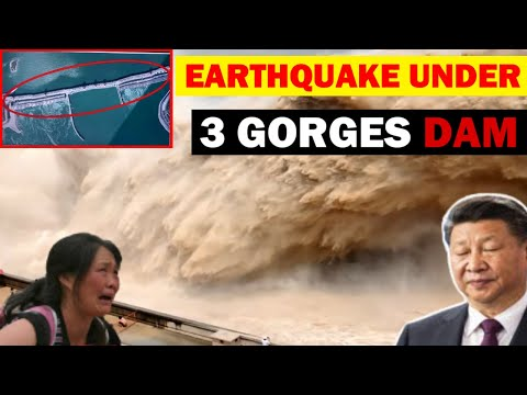 Earthquake Under Three Gorges Dam, Landslides Cause Many Casualties