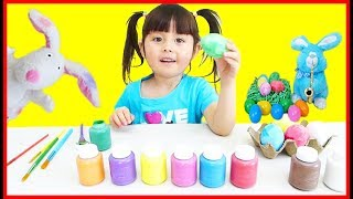 Learn Colors With Easter Eggs Daddy Finger Family Nursery Rhyme Songs Coloring Easter Eggs For Kids