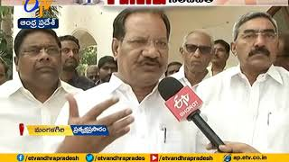 F to F with TDP leaders over postpone of local body polls..