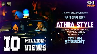 Athra Style – Sidhu Moosewala, Jenny Johal (Yes I Am Student) Video HD