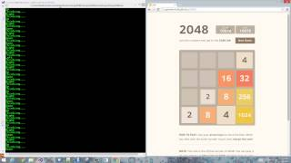 F#, Canopy and 2048