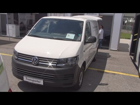 Volkswagen Transporter T6 2.0 TDI BMT 2+1 Panel Van (2016) Exterior and Interior in 3D