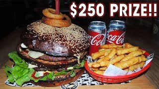"""$250 """"Don"""" BURGER Challenge RECORD ATTEMPT!!"""