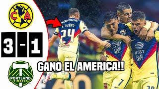 🔴 El Resumen: América 3-1 Timbers | Concacaf | Fox Sports | América VS Portland Timbers Donde ver
