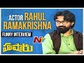Rahul Ramakrishna Funny Interview about Hushaaru Movie   Tejas   Dinesh   Tej   Sri Harsha   NTV