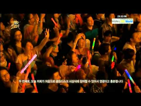 EXO - 130119 Golden Disk Awards - MAMA + Introduction + History