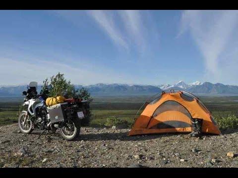 Viaggio in moto in Alaska