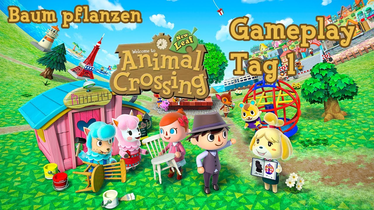 Animal Crossing New Leaf Gameplay German Deutsch - Preview ...
