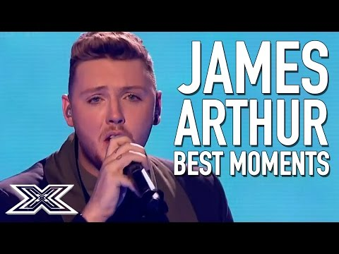 BEST of X Factor Winner James Arthur   Including 'Impossible' Live Final performance