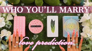 🔮(pick twice)🔮Who Will You End Up Marrying?!💕💏💡(PICK A CARD)✨Tarot Reading✨