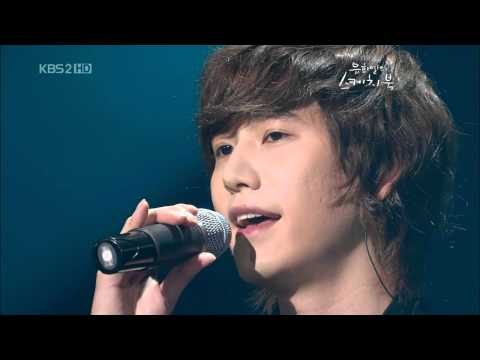 Kyuhyun -  7년의사랑 (7 Years Of Love) (090718 KBS  YHY's Sketchbook) HQ