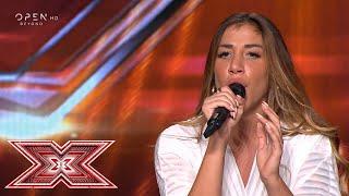 «Τον ίδιο το Θεό» τραγούδησε η Ειρήνη Μιχαήλ | Auditions | X Factor Greece 2019