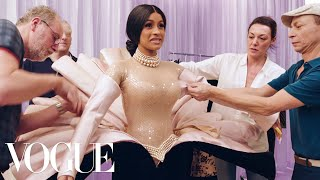 Behind Cardi B's Showstopping Grammys Looks   Vogue