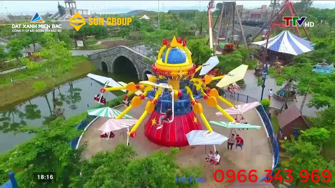 Căn giáp góc 2 mặt tiền - Sun Grand Boulevard Sầm Sơn, gọi 0919959268 video